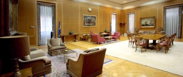 Γραφείο στη βουλή των Ελλήνων ζήτησε ο Βόλφγκανγκ Σόιμπλε