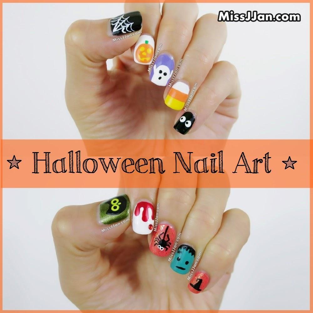 MissJJan\'s Beauty Blog ♥: Halloween Nail Art (5 Cute and Easy ...