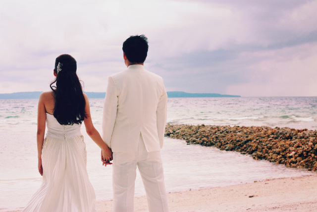 wedding at Bali-bali, Samal