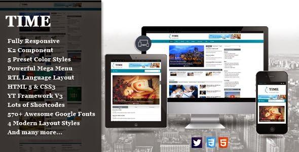 Best Responsive News Portal Joomla Template