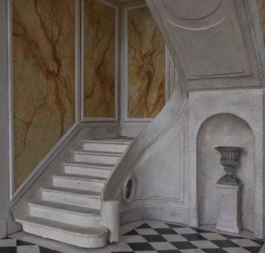 Cage d escalier good peinture cage duescalier with cage d for Cage escalier exterieur