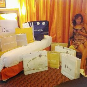 chika ike designer shopping bags
