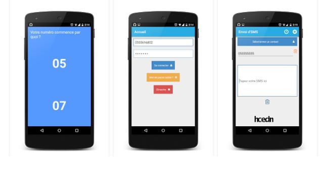 ارسال رسائل SMS نحو جيزي و اوريدو مجانا للأندرويد