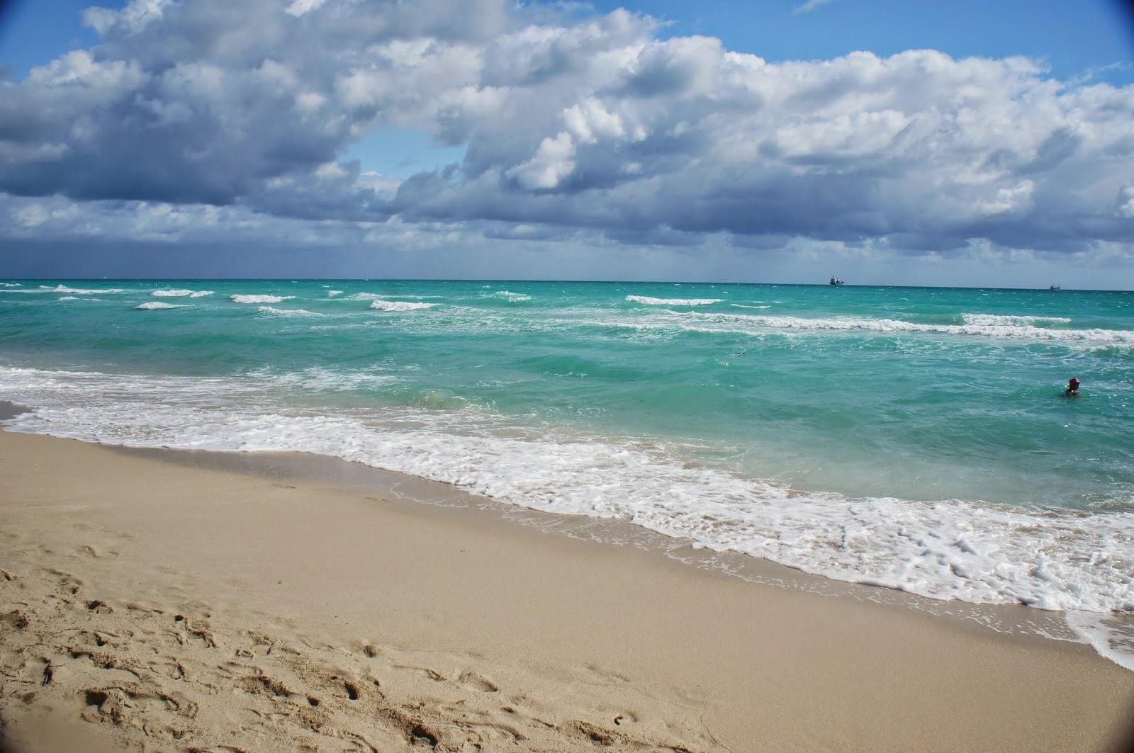 blue sky and blue sea
