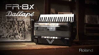 Roland's acclaimed FR-8x V-Accordion represents the new standard in digital accordion technology