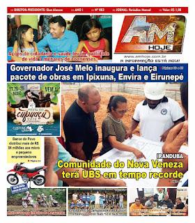 Coari é destaque em Jornal Impresso