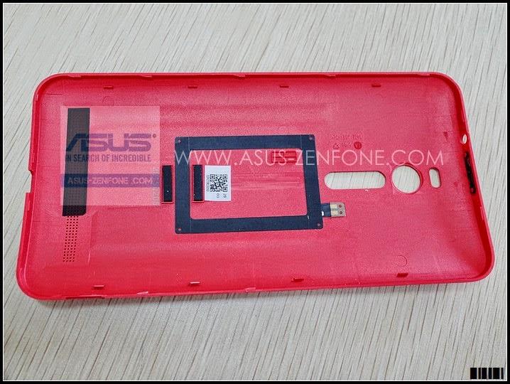 ASUS Zenfone 2 BackCover NFC