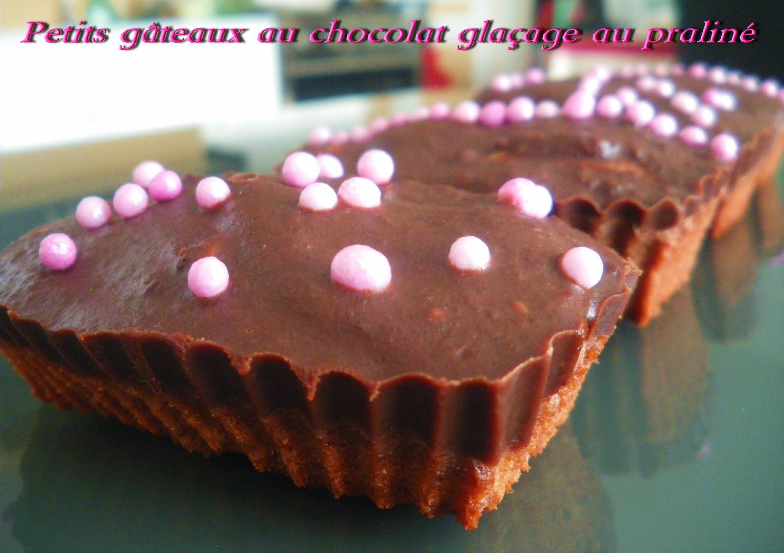 Gateau chocolat amande glacage