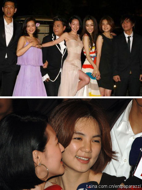 barbie hsu and wang xiao fei. When they arrived Hainan, Xiao