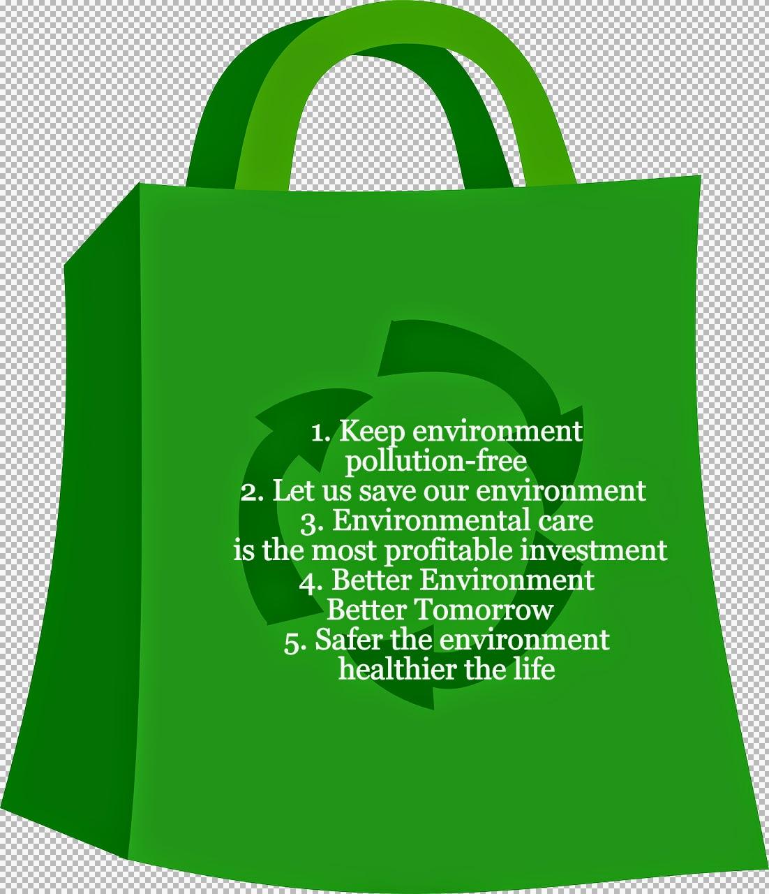 Environment slogan slogan