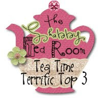 I'm In The Top 3  At The Shabby Tea Room