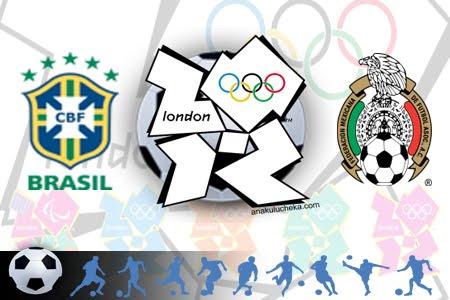 Keputusan Bola Sepak Akhir Olimpik London 2012   Brazil vs Mexico