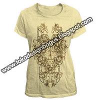 membuat design kaos dan desain t-shirt dengan Photoshop