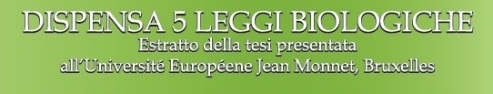 DISPENSA 5 LEGGI BIOLOGICHE - SIMONA CELLA - PDF