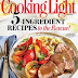 GIVEAWAY SUBSCRIPTION TO COOKING LIGHT
