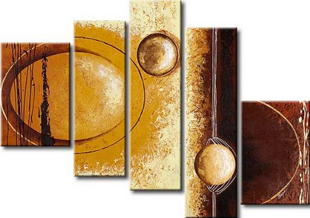 Cuadros pinturas oleos abstractos for Cuadros con relieve modernos