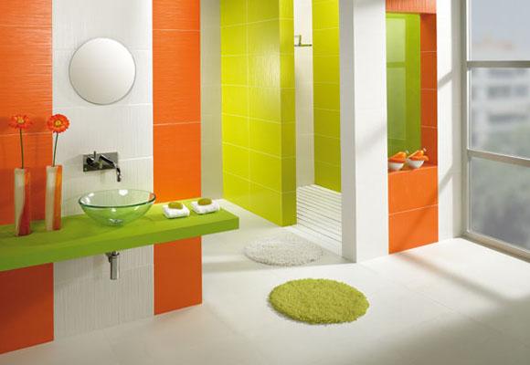 Los colores naranja y verde en la decoraci n de interiores for Decoracion hogar naranja