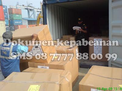 dokumen kepabeanan