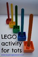Lego activity for toddlers