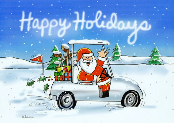 Happy Holidays From McGolf