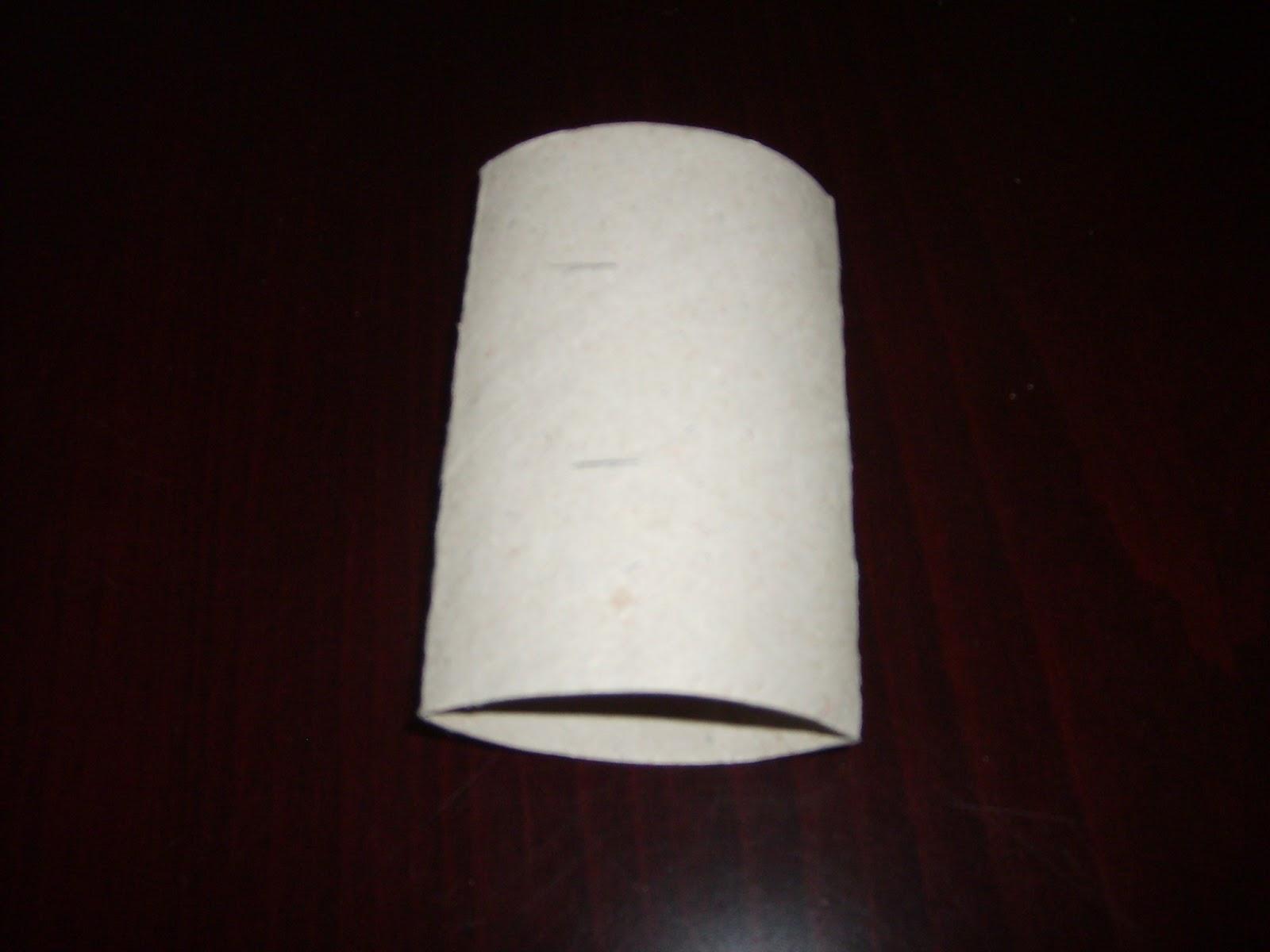 Tuvalet Kağıdı Rulosundan Boncuklu Peçete Halkası Yapımı