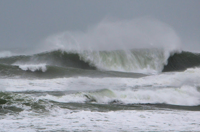 photo of the surf at rockaway beach oregon by Nancy Zavada
