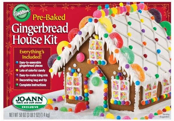on friday the 13th we will be making gingerbread houses each child will make their house the kits are available at walmart loblaws superstore and most