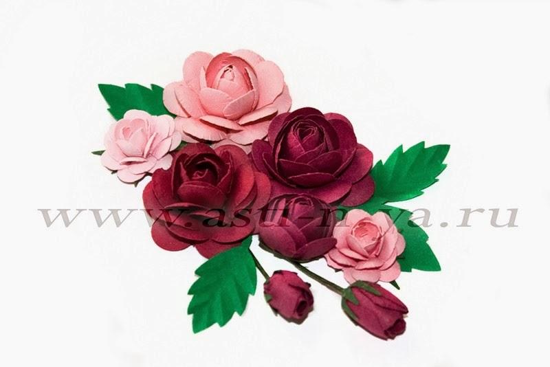 Цветы из нотной бумаги своими руками