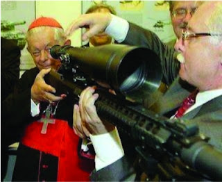 Banco do Vaticano é o PRINCIPAL acionista da maior indústria de ARMAMENTOS do mundo