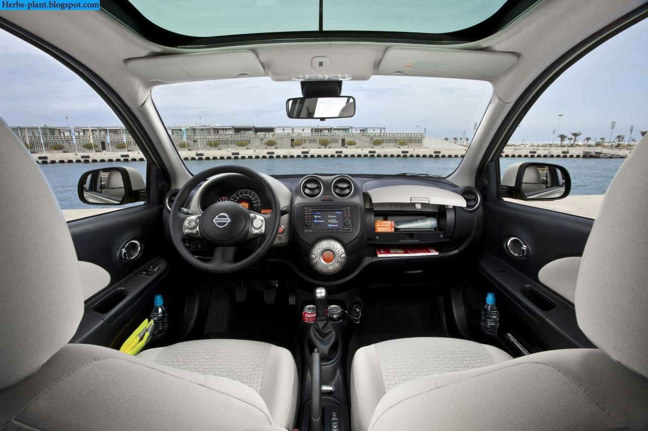Nissan march car 2013 interior - صور سيارة نيسان مارش 2013 من الداخل