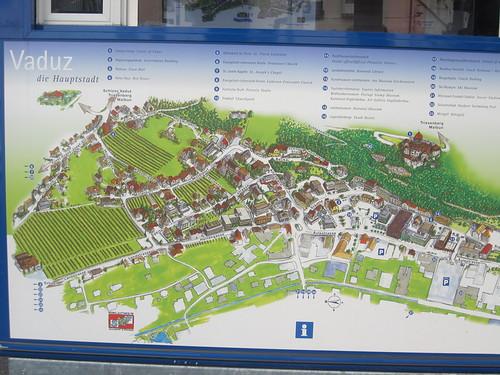 Of vaduz liechtenstein map of vaduz liechtenstein publicscrutiny Gallery
