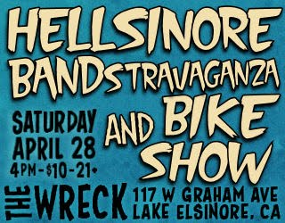 Hellsinore Bandstravaganza and Bike Show