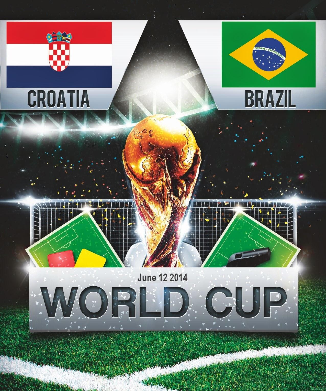 FIFA World Cup 2014 - Brazil Vs Crotia