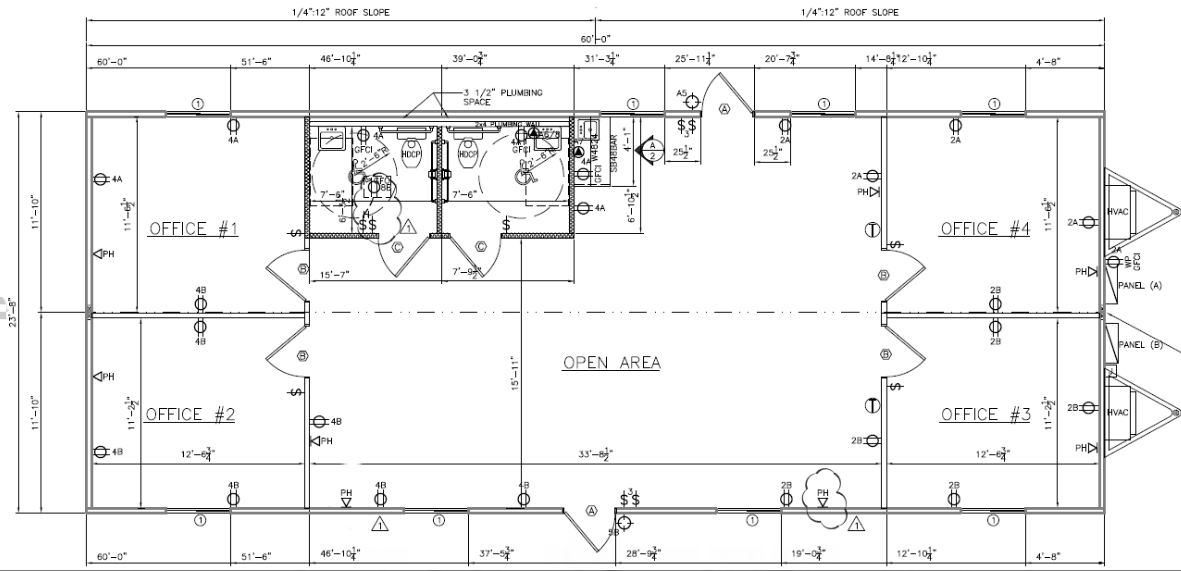 Modular Classroom Floor Plans ~ Modular building portable classroom office trailer