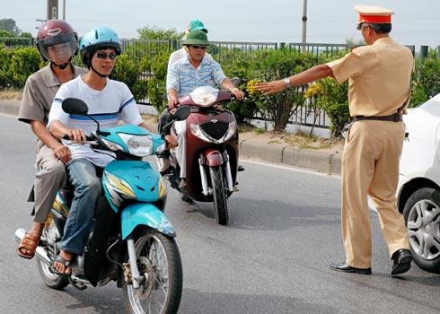 Nghị định số 71/2012/NĐ-CP - Mức phạt cho lỗi vi phạm giao thông cơ bản
