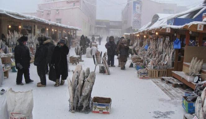 Kota Paling Dingin Di Dunia; Kota Yakutsk di Russia