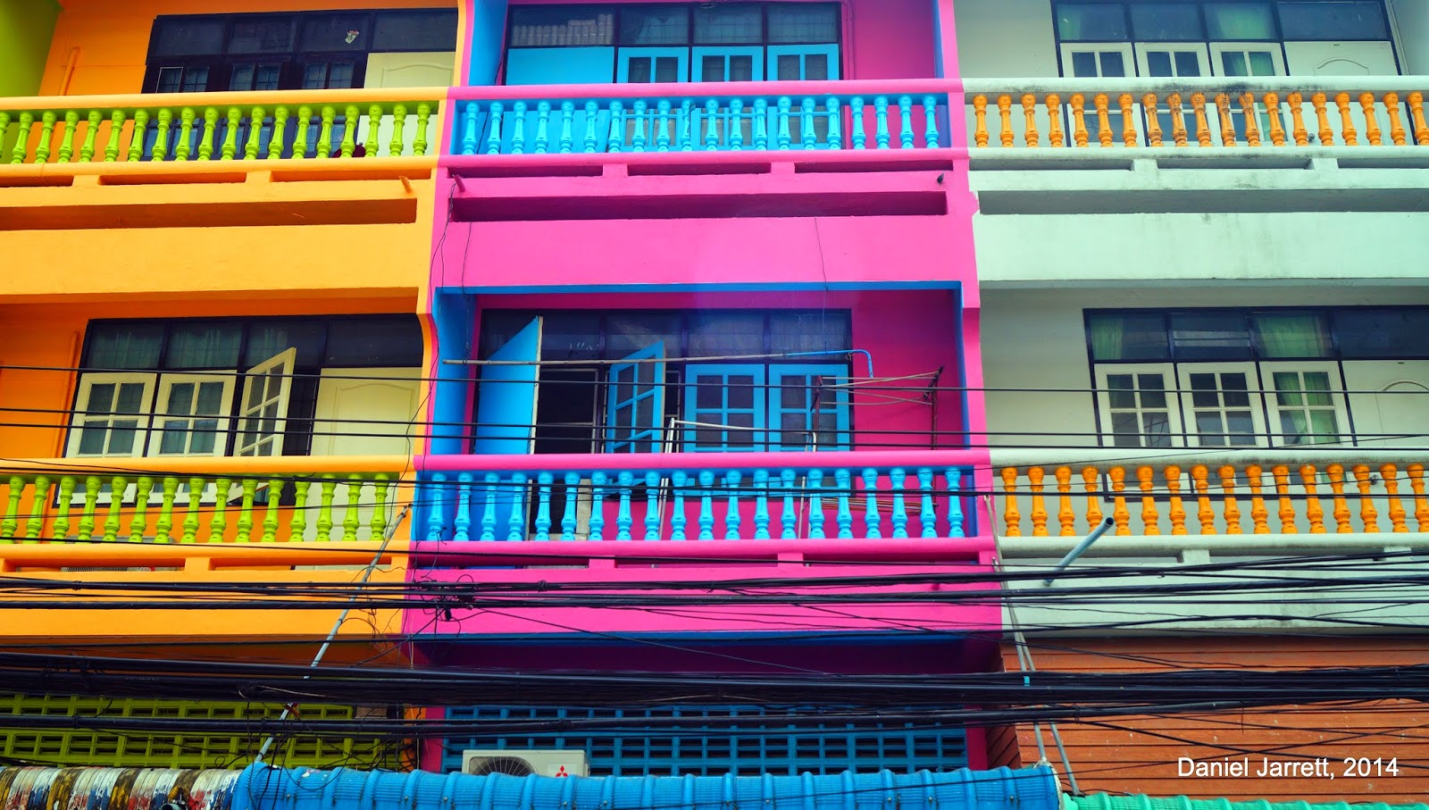Colourful Houses Phitsanulok