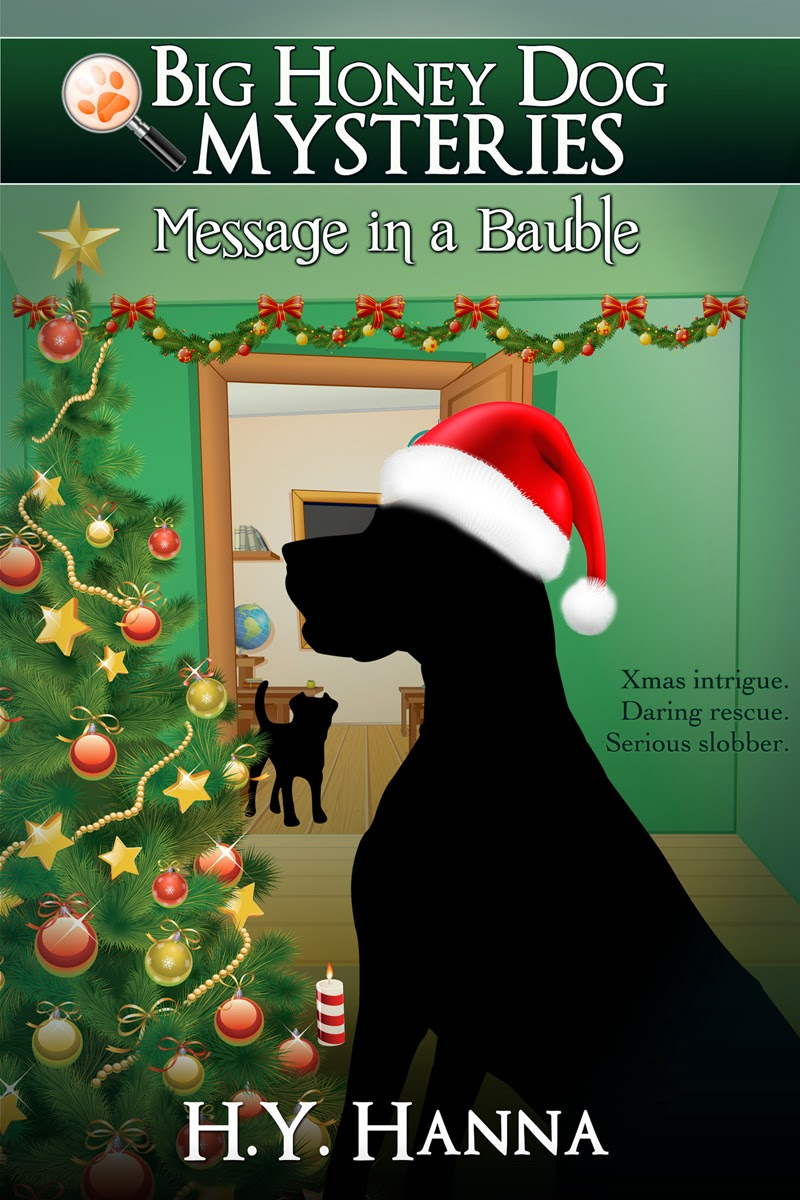 Big Honey Dog Mysteries: Message In A Bauble Christmas Intrigue Daring  Rescue Serious Slobber