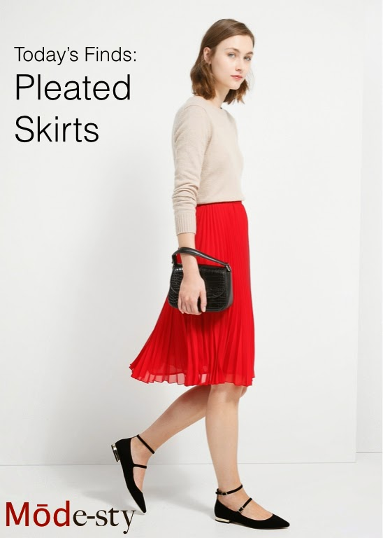 Modest pleated midi and maxi skirts for purchase Mode-sty jewish muslim tznius hijab mormon lds pentecostal apostolic kosher islamic fashion style trendy