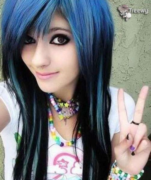 Sempre na moda tendência cabelos coloridos
