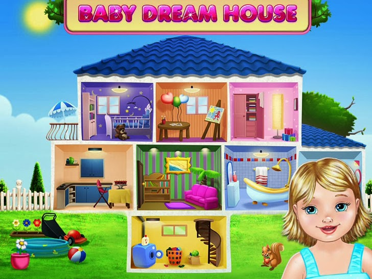Baby Dream House - Care, Play And Party At Home! App iTunes App By Kids Fun Club by TabTale - FreeApps.ws