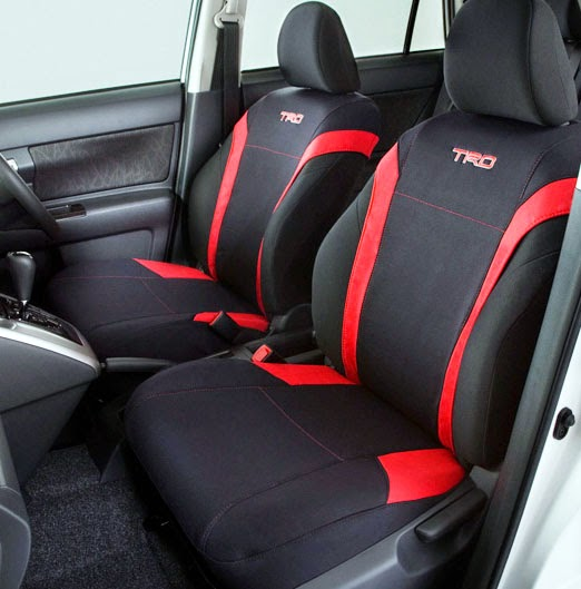 Exact Fit Toyota Seat Covers trd ports vest