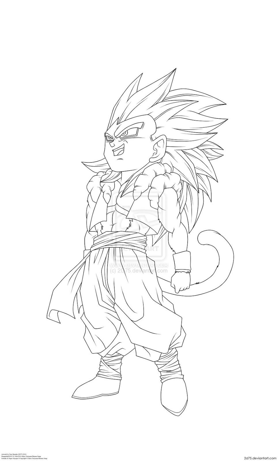 gotenks coloring pages - coloriage dragon ball super krilin