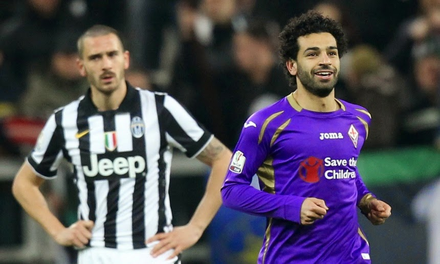 Video Juventus-Fiorentina 1-2 Coppa Italia doppietta Salah