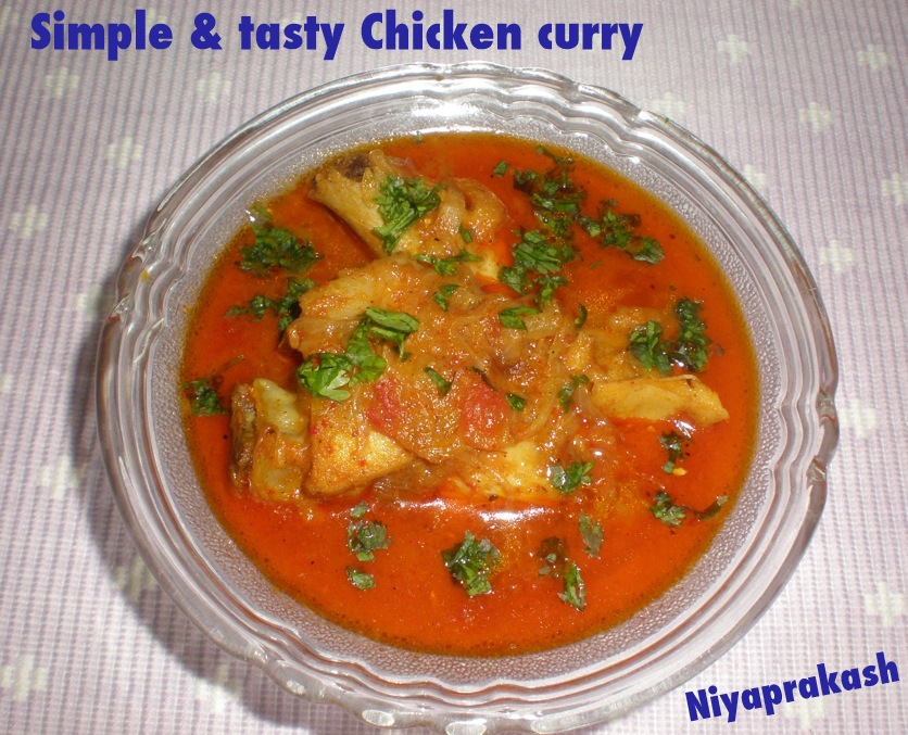 niya 39 s world simple tasty chicken curry