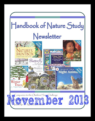 Handbook of Nature Study Newsletter November 2013