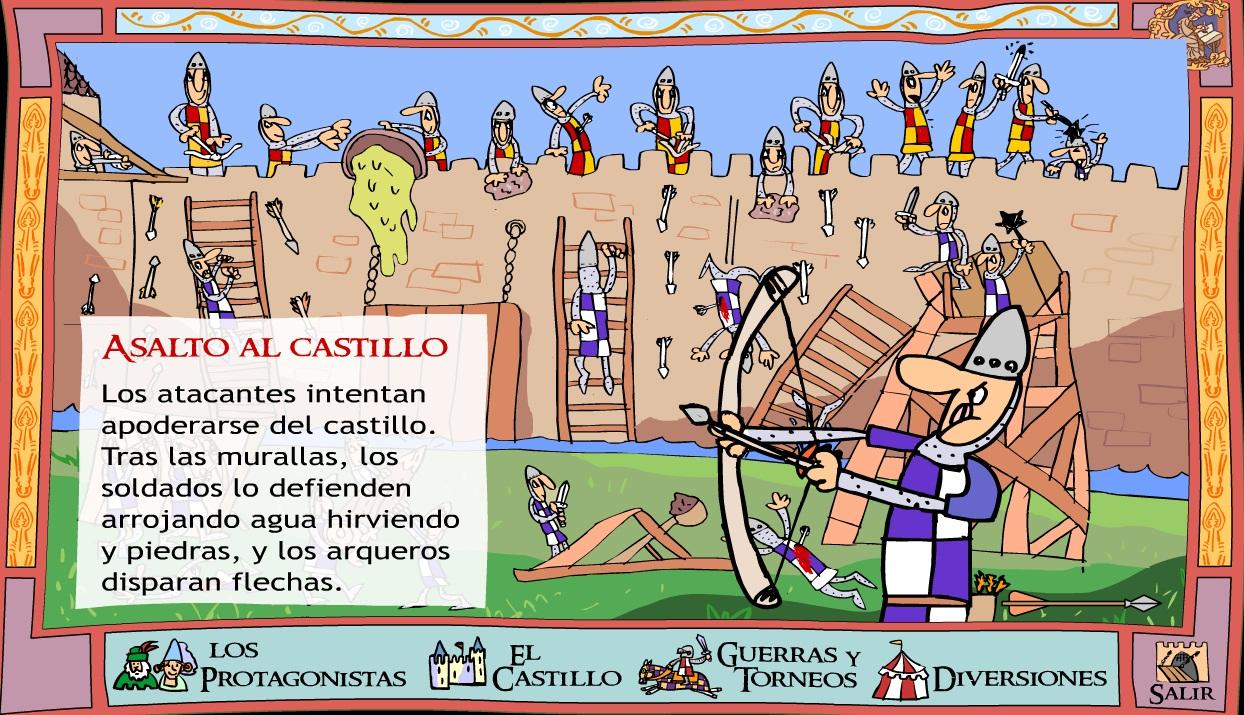 El blog de la profe marta asalto matem tico al castillo - Castillos para ninos de infantil ...