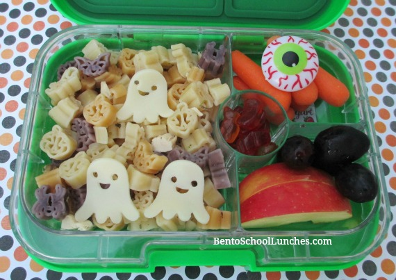 Ghost Halloween Pasta lunch