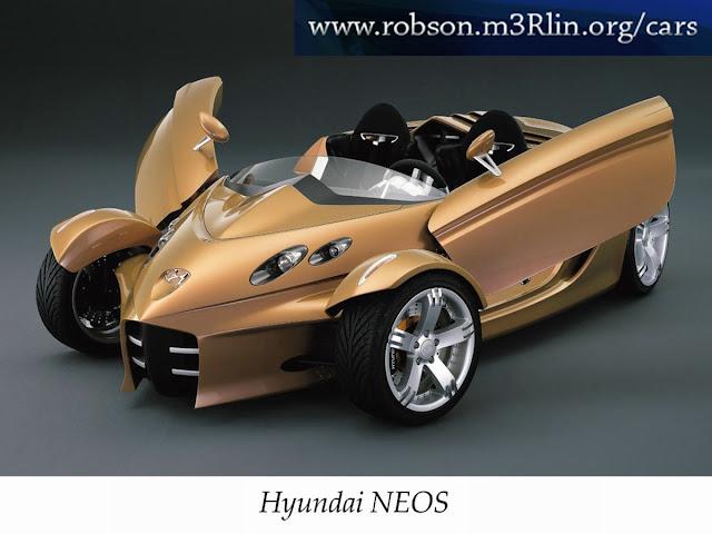 Sports cars Hyundai Neos