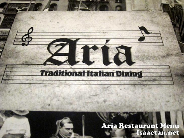 Aria Restaurant Traditional Italian Dining